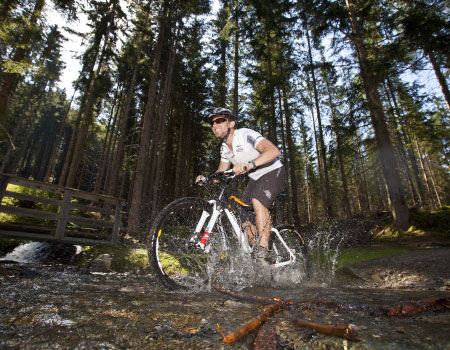 mountainbikeurlaub im pitztal larcher st leonhard single trail